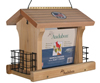 Woodlink, Feeder Lg Ranch W/Suet Screen